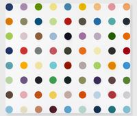 Clindamycin Phosphate by Damien Hirst contemporary artwork painting, works on paper