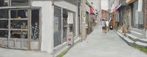 Study of Green-Seoul-Vacant Lot-Yeonnam-dong by Honggoo Kang contemporary artwork
