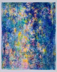 After the Rain by Rie Ono contemporary artwork painting, works on paper