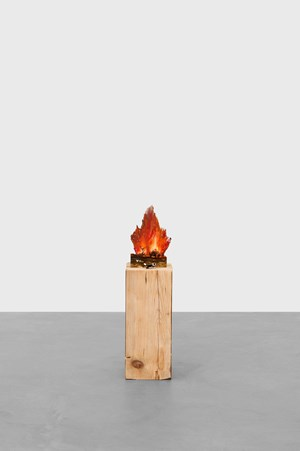 Little fire by Tursic & Mille contemporary artwork