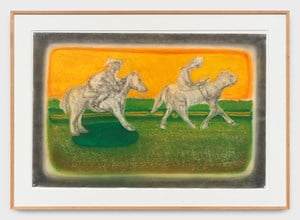 Untitled (Pony Ride) by Richard Artschwager contemporary artwork