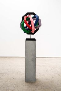 The World Wide Web by Eva Rothschild contemporary artwork sculpture