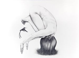 The Beloved by Patricia Piccinini contemporary artwork drawing