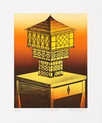 Goldenes Fachwerk by Titus Schade contemporary artwork print