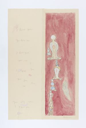 I Love You, You Love Me by Louise Bourgeois contemporary artwork