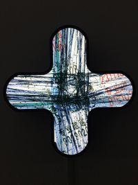 Cross Light Box NO.2 by Li Yi-Fan contemporary artwork mixed media