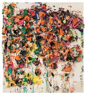 Beishan Asleep No.2 by Zhu Jinshi contemporary artwork