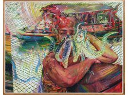 """Ronson Culibrina<br><em>Rainbow Spill</em><br><span class=""""oc-gallery"""">Yavuz Gallery</span>"""