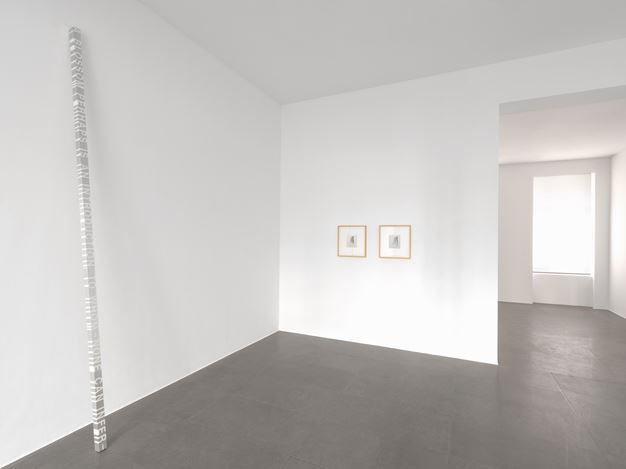 Exhibition view: Group Exhibition, Winterreise, Xavier Hufkens, 6 rue St-Georges, Brussels (22 January–29 February 2020). Courtesy the Artists and Xavier Hufkens, Brussels. Photo: Allard Bovenberg.