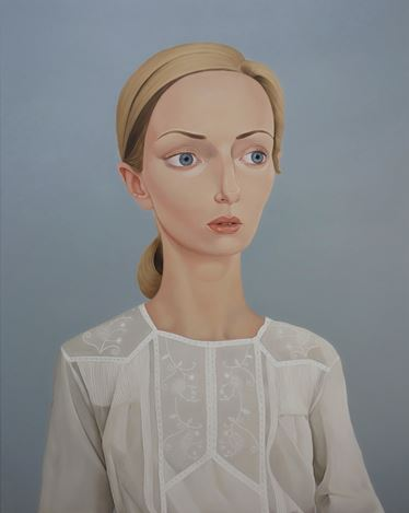 Peter Stichbury,Lani Leary, 1982 (Estelle), 2019, oil on linen, 120 x 95 cm