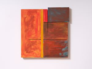 Sunset Painting by James Ross contemporary artwork