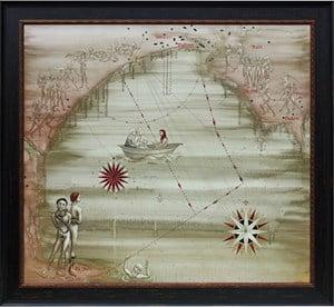 Te Kuri by Roger Mortimer contemporary artwork