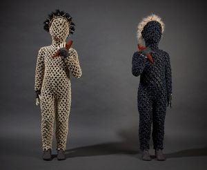 1.5 Apart-Together by Linde Ivimey contemporary artwork sculpture