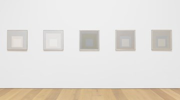 Contemporary art exhibition, Josef Albers, Grey Steps, Grey Scales, Grey Ladders at David Zwirner, New York