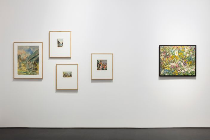 Exhibition view: Group Exhibition, L'Invitation au voyage, Esther Schipper, Berlin (28 April–20 June 2021). Courtesy Esther Schipper.