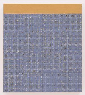 MAB: 1947: E by McArthur Binion contemporary artwork
