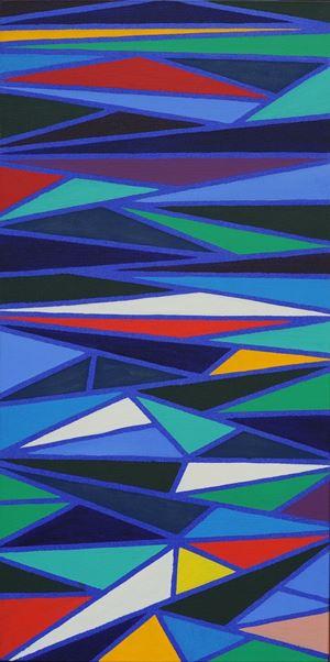 Scaletta by Piero Dorazio contemporary artwork