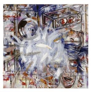 Die Erinnerung entwickelt nichts als Bilder und ich bin mir selber selbst schon nichts mehr als das vernichtende Nichts der Gedanken by Jutta Koether contemporary artwork