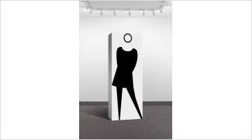 Contemporary art exhibition, Nona Faustine, Shirin Neshat, Julian Opie, Kay Rosen, Suara Welitoff, Not So Simple at Krakow Witkin Gallery, Boston, USA