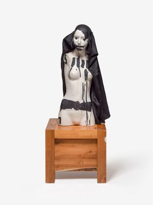 BIST' KUNSTSCHWANGER, ODER AUCH!?! by Jonathan Meese contemporary artwork