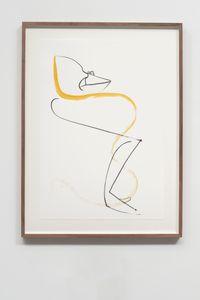 Autoportrait avec pouce opposable XLII by Abraham Cruzvillegas contemporary artwork painting, works on paper