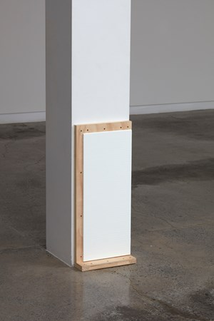 White Crate Painting (Part 1) by Noel Ivanoff contemporary artwork