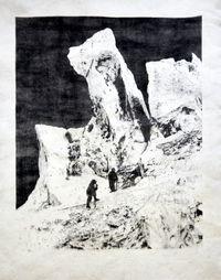 Eisturm-des-Bossons-gletschers by Douglas Mandry contemporary artwork print