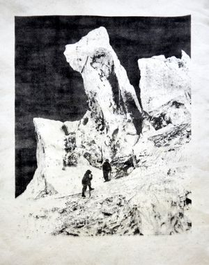 Eisturm-des-Bossons-gletschers by Douglas Mandry contemporary artwork