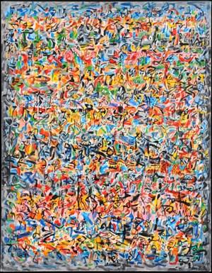 Transes by Mahjoub Ben Bella contemporary artwork