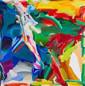 After De Kooning No.1 by Seoul Kim contemporary artwork painting