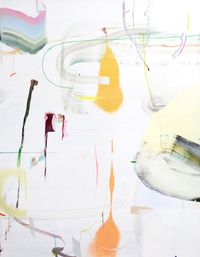 Designation of lines by Qingzhen Han contemporary artwork painting