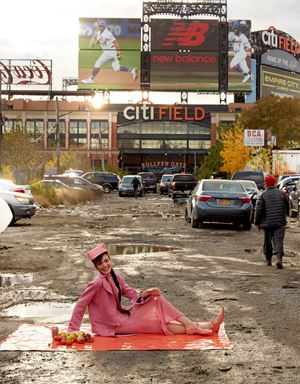 Oslo Grace at Willets Point by Roe Ethridge contemporary artwork