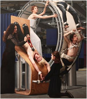 Inverso Mundus, Inquisition or Women's Labor#01 by AES+F contemporary artwork