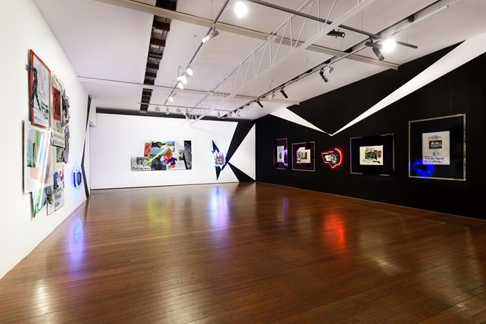 Exhibition view: Brook Andrew, This Year, Roslyn Oxley9 Gallery, Sydney (25 September—4 October 2020). Courtesy Roslyn Oxley9 Gallery. Photo: Luis Power