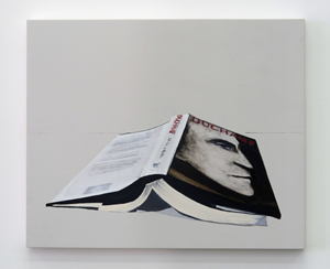 Book (Duchamp) by Whitney Bedford contemporary artwork