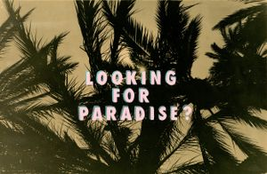 Looking For Paradise (Miami Vice Vibe #2) by Bruno V. Roels contemporary artwork