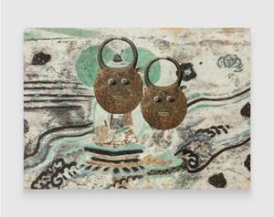 Evolution–South Wall of Mogao Cave No.023, Goli Kplekple Mask by XU ZHEN® contemporary artwork