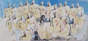 Nude woman by Yukihisa Isobe contemporary artwork