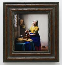 Vermeer Study: What to Pour into My Town by Yasumasa Morimura contemporary artwork print