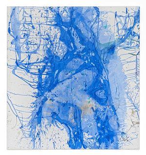 Heiwa No Akashi 2007-10 by Shozo Shimamoto contemporary artwork