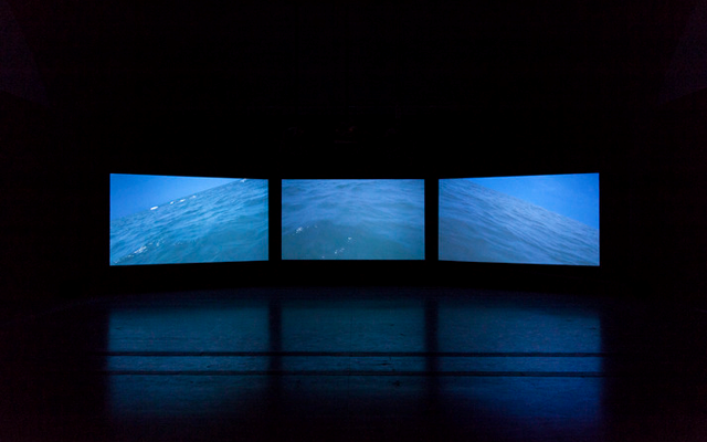 Exhibition view:We Love Video This Summer,Pace Gallery, Beijing (26 July–5 September 2014). Courtesy Pace Gallery.