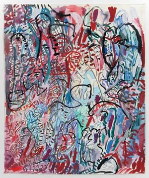 29.8.18.1 by Elliott Hundley contemporary artwork