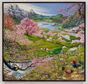 The Four Seasons Spring by Raqib Shaw contemporary artwork