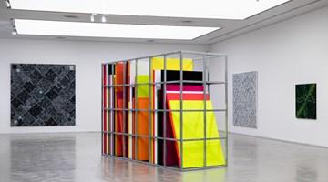 Contemporary art exhibition, Ding Yi, Interchange|立交 at ShanghART, Westbund, Shanghai