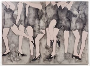 Moving Girls & Dreams by Jim Dine contemporary artwork