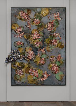 Water Lilies I by Ugo Schildge contemporary artwork