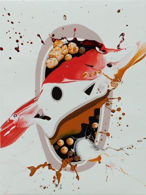 Popcorn brain by José Castiella contemporary artwork