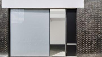 Gagosian contemporary art gallery in Britannia Street, London, United Kingdom
