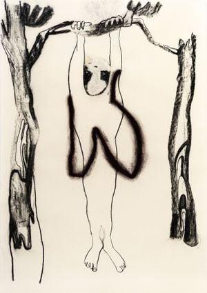 Hang out by YI YOUJIN contemporary artwork