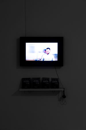 Fuat Eşrefoğlu Lahmacun Yiyiyor, Andy Warhol'a Saygı Durulamayışı/Fuat Eşrefoğlu Eating A Lahmacun, Failed Tribute To Andy Warhol by Gizem Karakaş contemporary artwork